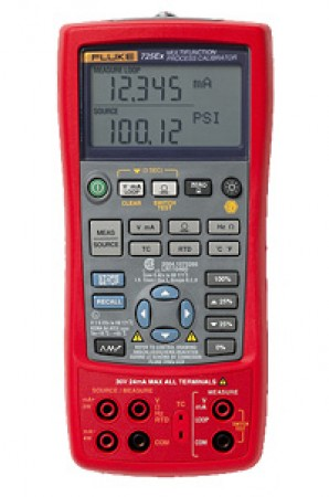 Multi Function Calibrator Fluke 725 Ex Rental