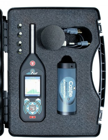 dBAir Sound Meter System for Hire