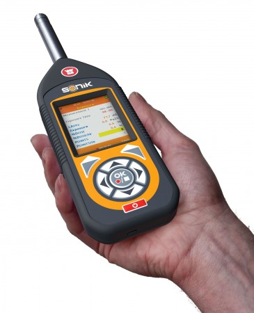 Hire the SONIK Sound Meter