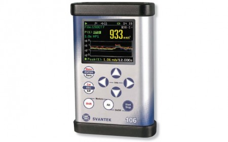 Svan 106 Vibration Meter - Whole Body Rental