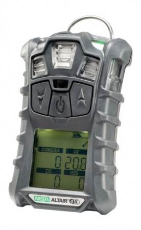 MSA ALTAIR® 4X (3 gas) Multigas Detector (LEL, O2, CO) - GLOW Warranty