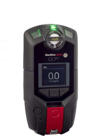 Blackline G7c Gas Monitoring Protection Device