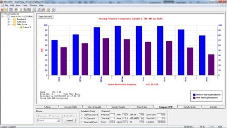 dBdataPro Noise Analysis Software