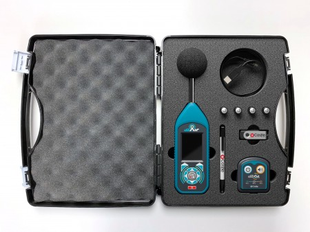dBAir Sound Meter System for Safety Managers