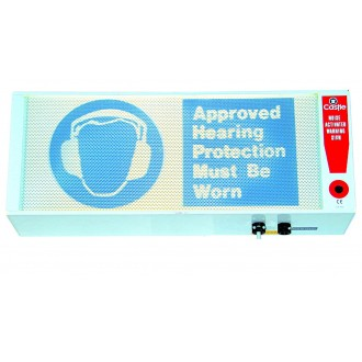 Noise Activated Warning Sign - GA902